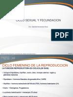 Ciclo Sexual y Fecundacion 2010