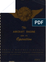 Pratt Whitney Aircraft Engine