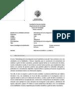 Programa Opt. Metodos Cuantitativos Prof. Julieta Palma 1-2018