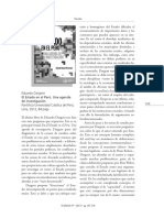 El Estado en el Perú (reseña)
