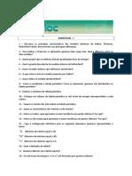 Exercício Química Geral - 10.08.2010