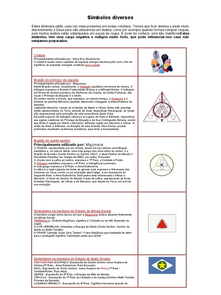 Simbolos E Seus Significados