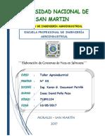 Elaboracion de Conservas de Yuca en Salmuera