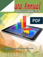 214 Data Anual Provinsi Riau Tahun 2016 Dok