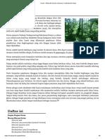 Hutan - Wikipedia Bahasa Indonesia, Ensiklopedia Bebas