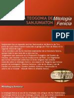 La Teogonia de Sanjuniaton