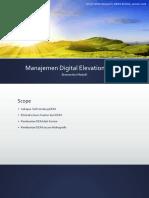 Manajemen Digital Elevation Model