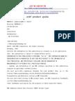 Srdf Product Guide[Www.mianfeiwendang.com]