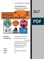 Estrategias de Entradas a Los Mercados Globales-marketing