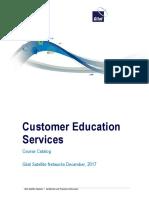 Product Education and Training Catalog
