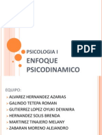 Enfoque Psicodinamico