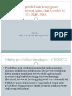 Prinsip Pendidikan Kesejagatan (UNESCO),L