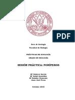 Poriferos 2015-16