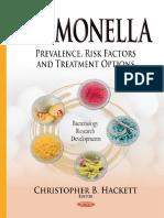 Christopher B. Hackett - Salmonella_ Prevalence, Risk Factors and Treatment Options (2015, Nova Science Publishers Inc)