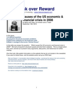 Causes of 2008 Economic & Financial Crisis in the United States_Sept 2010