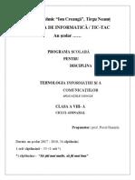 699-Optional Cls a VIII-A CTIC