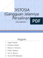15. DISTOSIA