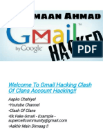 Hack 5000+ Gmails Accounts COC Accounts - Amaan Ahmad