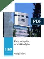 S[1]. Schlehlein, BASF SE_Wartung Und Inspektion Mit Dem MARLIN System