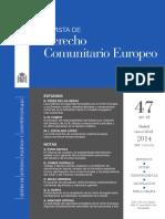 derecho comunitario europeo, profundizando en europa