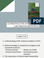 Combating the Antibiotic Resistance in PICU
