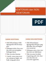 Cairan Newtonian dan Non-newtonian