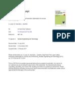 High Power Fiber Laser Cutting Parameters Optimiza