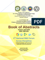 2nd NRDF Book of Abstracts