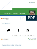 Building Our Learning Experience4.19.18 Intrepid by VitalSource Webinar