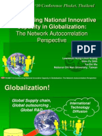 Constructing National Innovative Capacity in Globalization