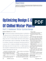ASHRAE Journal - Optimizing Design Control of Chilled Water Plants Part 2 Condenser Water Distribution System Design