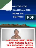Bedah Skl Ipa Un 2018