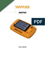 Beeper User Manual Provv