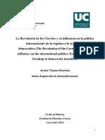 Vinaeta Elorrieta, Joseba - La Revolución de Los Claveles y Su Influencia en La Politica Internacional