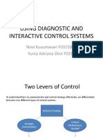 Using Diagnostic and Interactive Control System