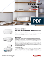 Pixma Home Ts5160 - Tech Sheet