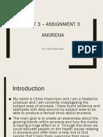 presentation anorexia
