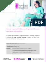 Programa EME Emprende Guadalupe