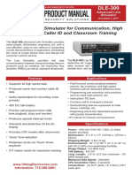 VE DLE-300 Advanced Line Simulator 607