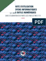 Guide Charte Utilisation Moyens Informatiques Outils Numeriques Anssi