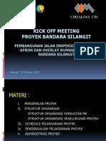 Presentasi Kick Off Meeting Proyek Bandara Silangit