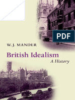 British Idealism a History