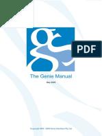 Genie Manual v759