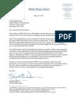 Letter from U.S. Sen. Elizabeth Warren