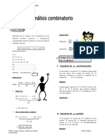 IV Bim - 5to. Año - Raz. Mat. - Guía 2 - Analisis Combinator