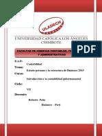 Estado Peruano y Su Estructura
