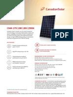 Canadian Solar Datasheet CS6K M En