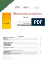 Diseño Curricular Córdoba Nivel Primario 2012 2015 Educ Fisica