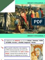 El Origen de La Iglesia 4to Sec