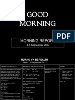 Morning Report 4-5 Sept